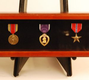 Medals custom framed in shadowbox