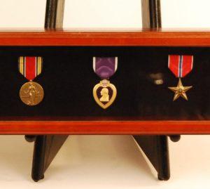 Medals custom framed in shadowbox