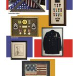 patriotic and military picture framing