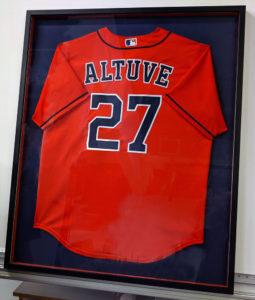 Framed Houston Astros Jersey Altuve